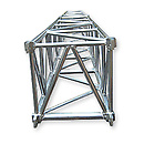 ASD57SC5140 / Structure carrée 500 mm lg de 1m40