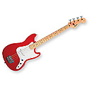 SquierBronco Bass (Torino Red) Réf 310902558