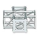 ASD57ASC1541 / Angle 150 4 départs 0m35 x 0m25
