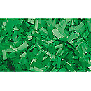 ShowtecConfettis Rectangle 55 x 17mm Verts