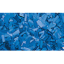 ShowtecConfettis Rectangle 55 x 17mm Bleus