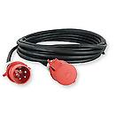 ShowtecExtension Cable, 3x 32A 380V 25 m/5 x 4 mm2