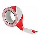 ShowtecBande adhésive 50 mm Rouge/Blanc