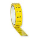 ShowtecMarkertape 25 mm/33 m Yellow