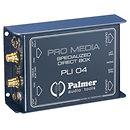 PalmerPLI 04 Boîte de Direct passive 2 canaux pour PC et laptop