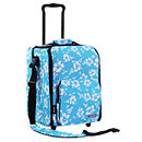 ZomoCD Trolley Premium Flower Blue
