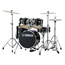 YamahaJunior Kit Manu Katché Raven Black with hardware