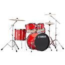YamahaRydeen Fusion 20'' Hot Red + Hardware + Cymbales