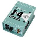 RadialJ+4 Stereo Line Driver