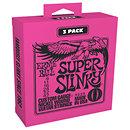 Ernie BallP03223 Super Slinky Pack 3