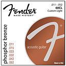 FenderPhosphor Bronze Acoustic Guitar Strings 11-52 3 PACK