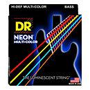DR StringsHi Def NEON MCB-45 Multi-Color