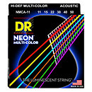 DR StringsMCA-11 Hi Def NEON Multi-Color