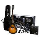 EpiphoneLes Paul Electric Guitar Player Pack Vintage sunburst