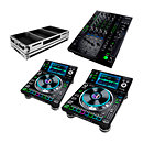 Denon DJPrime Pack SC5000 + X1800 + flight case PCDM SCX
