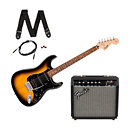 SquierAffinity Series Stratocaster HSS Pack Brown Sunburst