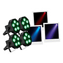 MartinTHRILL PAR64-LED Pack de 4