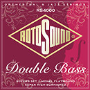 RotosoundRS4000M Nylon/Monel Flatwound Double Bass Set