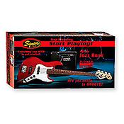 Squier Pack Squier J-Bass / Fender Rumble 15 Amp - Metallic Red)