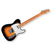 Fender50's Telecaster - Sunburst 2 tons