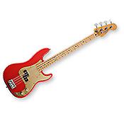 Fender 50's Precision Bass - Fiesta Red