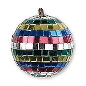 ShowtecBoule à facettes multicolore 5 cm
