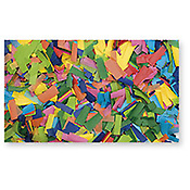 ShowtecShow Confetti Rectangle 55 x 17mm