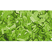ShowtecConfettis Rectangle 55 x 17mm Verts Clairs