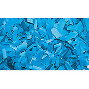 ShowtecConfettis Rectangle 55 x 17mm Bleus Clairs