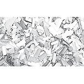 ShowtecConfettis Rectangle 55 x 17mm Blancs