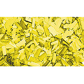 ShowtecConfettis Rectangle 55 x 17mm Jaunes