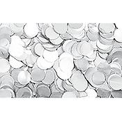 ShowtecConfettis Ronds 55mm Blancs