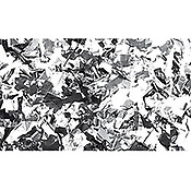 ShowtecConfettis Metal Argent Rectangle