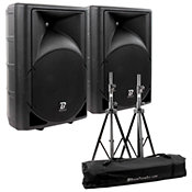 BoomTone DJ MS12A Paire + Pieds