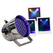 BoomTone DJPAR 56 RGB LED Silver