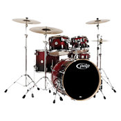 PDP by DW CM4 Red to Black Sparkle Fade