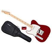 FenderStandard Telecaster LH Candy Apple Red Bundle