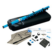 NuvoStudent Flute Electric Blue