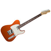 Fender American Elite Telecaster Rosewood Autumn Blaze Metallic