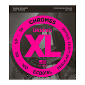 D'AddarioECB81SL Chromes Bass Light 45-100 Super Long Scale