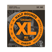 D'Addario EHR310 Half Rounds Regular Light 10-46