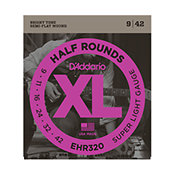 D'Addario EHR320 Half Rounds Super Light 9-42