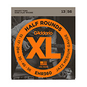 D'AddarioEHR360 Half Rounds Jazz Medium 13-56