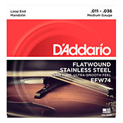 D'Addario EFW74 Flat Wound Medium 11-36
