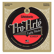 D'AddarioEJ45LP Pro-Arté Lightly Polished Composite Normal Tension