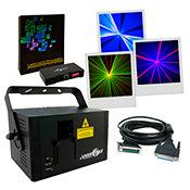 Laserworld CS-1000RGB MKII Pack