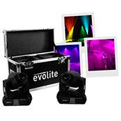 EvolitePack 2 Evo Spot 60 + Flightcase