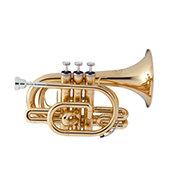 JupiterJTR 710 Trompette de poche vernie