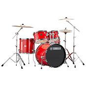 Yamaha Rydeen Fusion 20'' Hot Red + Hardware + Cymbales