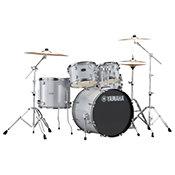 Yamaha Rydeen Fusion 20'' Silver Glitter + Hardware + Cymbales